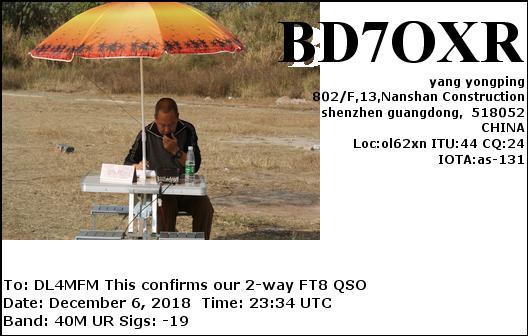 BD7OXR